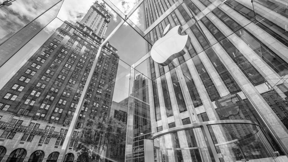 Apple knuser Android på profitt