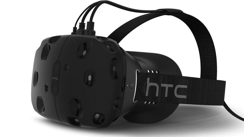 HTC Re Vive i all sin prakt.