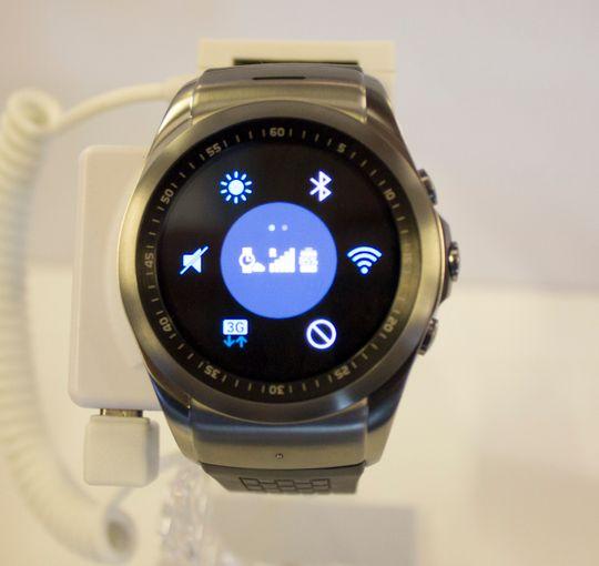 Slik ser hurtiginnstillingene ut på Watch Urbane LTE.