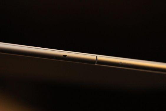 Xperia Z4 Tablet er bare 6,1 millimeter tykt.