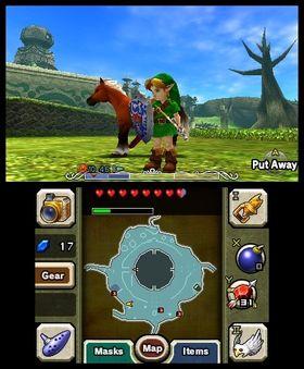The Legend of Zelda: Majora's Mask.