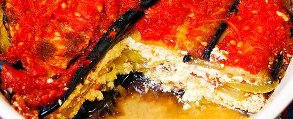 Vegetarisk moussaka