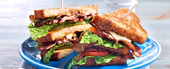 BLT-sandwich for barna