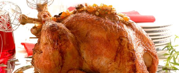 Roast turkey with herbs (stekt kalkun med urter)