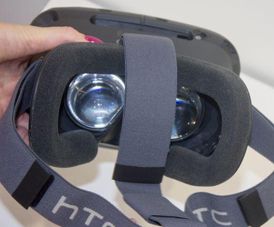 Første utgave av Vive hadde både annet navn og annen design. Her var mye uferdig.