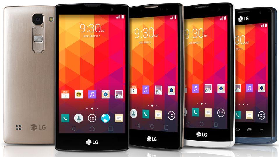 LG slipper «eksklusive» billigtelefoner