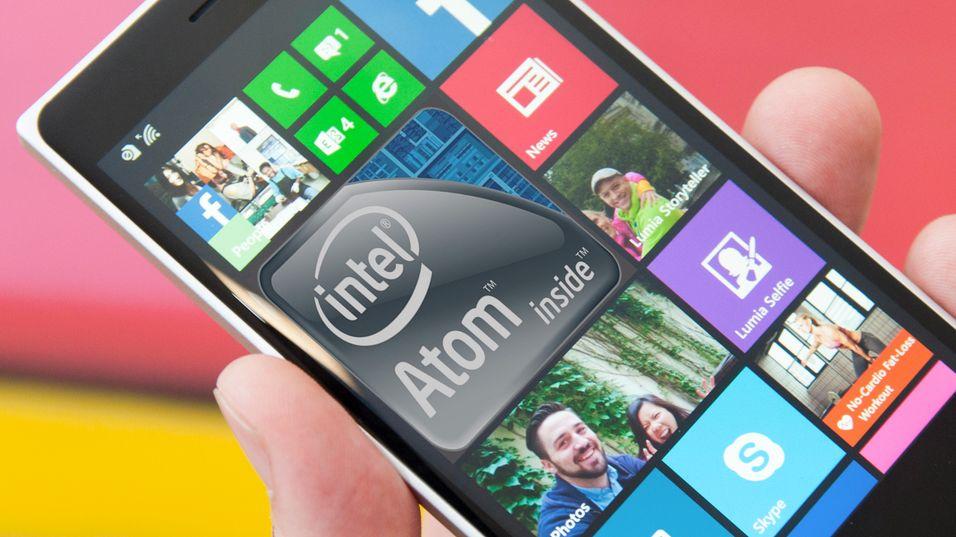 Nå kommer Windows-mobiler med Intel-brikker