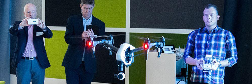 Slik skal droner hindre at strømregningen din går i taket