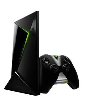 Nvidia Shield med kontroller.