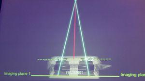 Slik fremstiller Huawei teknologien som gjør at de to kameraene måler avstander.på en nøyaktig måte. Fokustiden skal være 0,1 sekund.