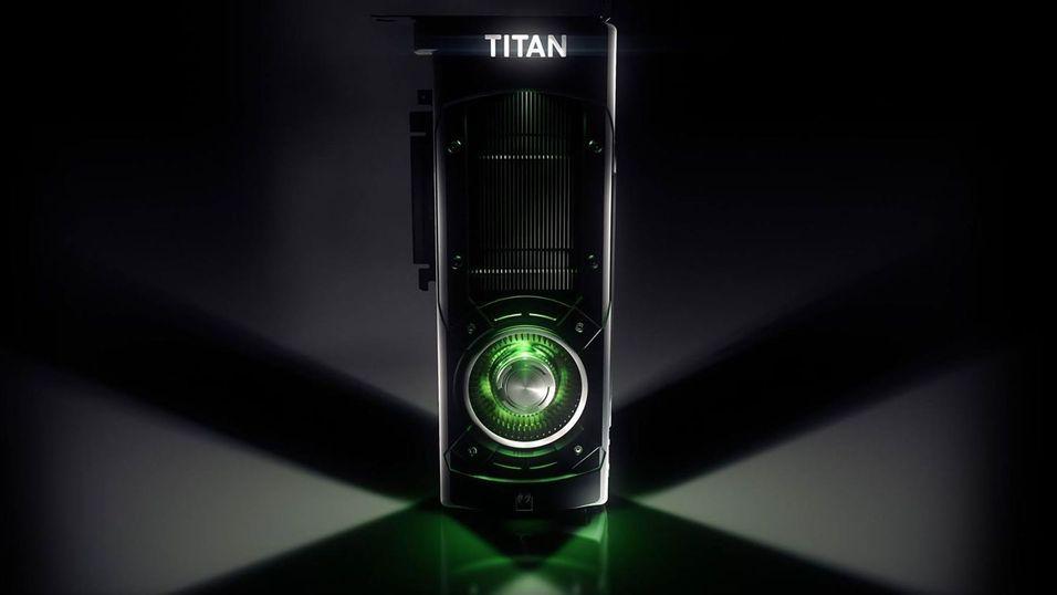 Nvidia GeForce GTX Titan X.