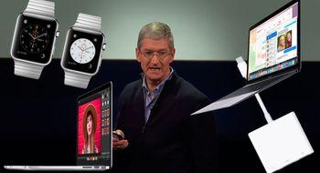 Her er de fem tingene du må vite fra Apple-lanseringen