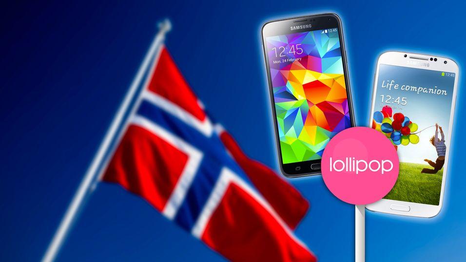 Samsung utsetter Lollipop i Norge