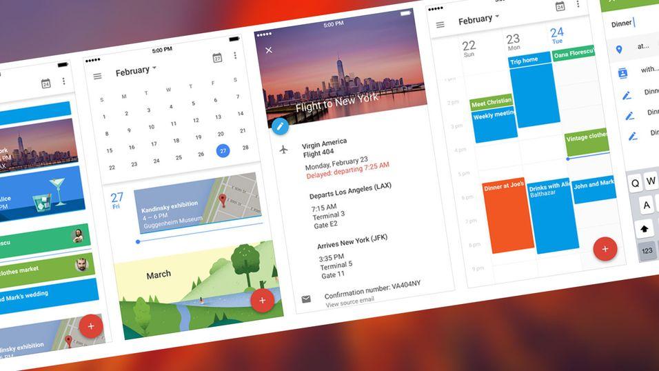 Nå funker Googles kalender på iPhone