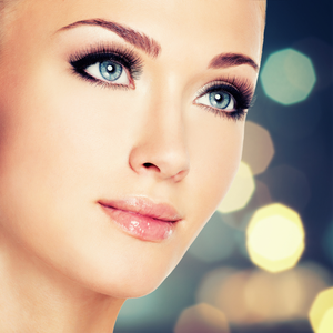 Blå øyne er uvanlige på verdensbasis.