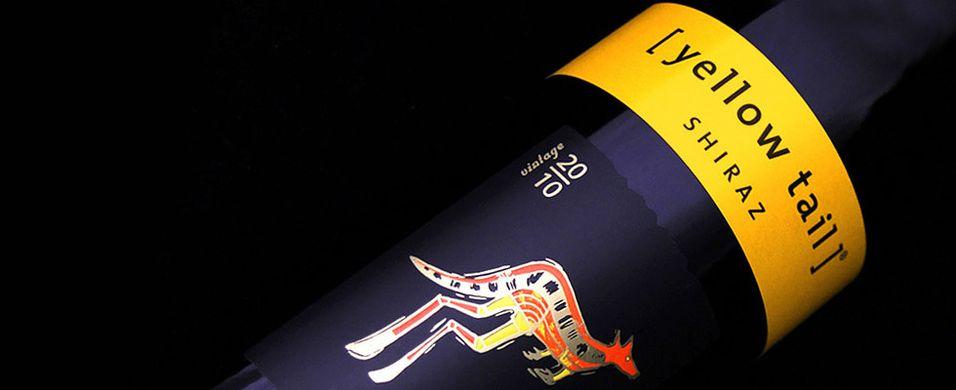 Etiketten på vinflasken betyr mye