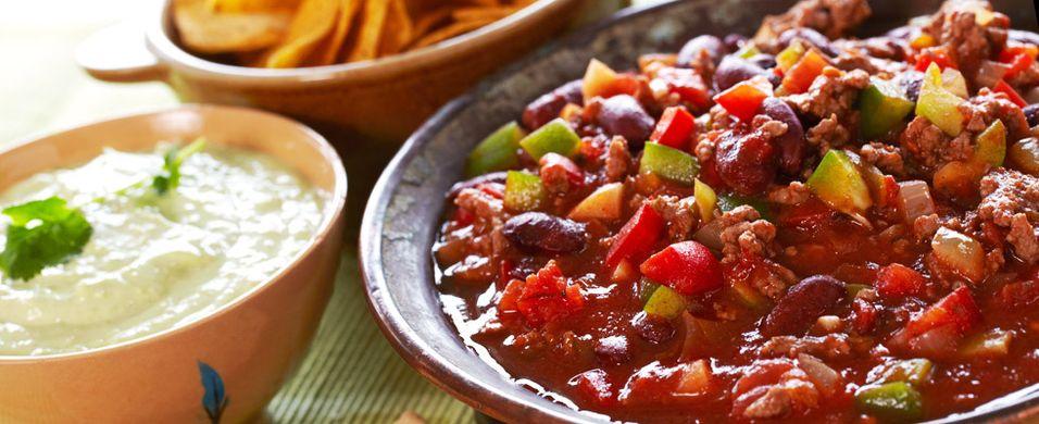 DAGENS RETT: Dårlig med middag i dag? Null stress med chili con carne