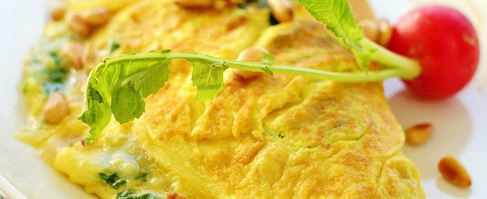 DAGENS RETT: Ferske egg må til for å lage perfekt omelett