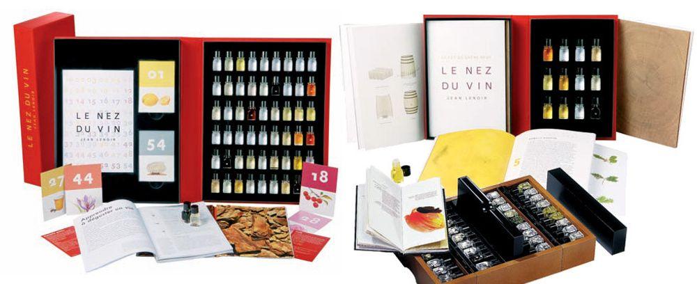 Bli en mester i aroma med duftsett fra Le Nez du Vin