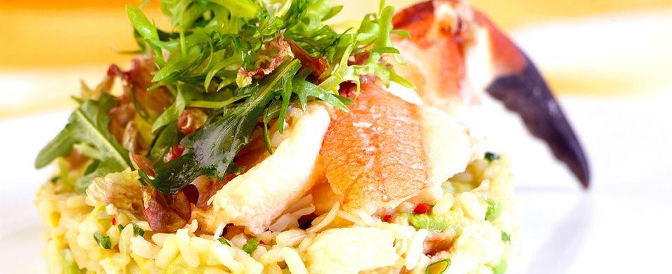 DAGENS RETT: Lag en liten krabbefest midt i uka