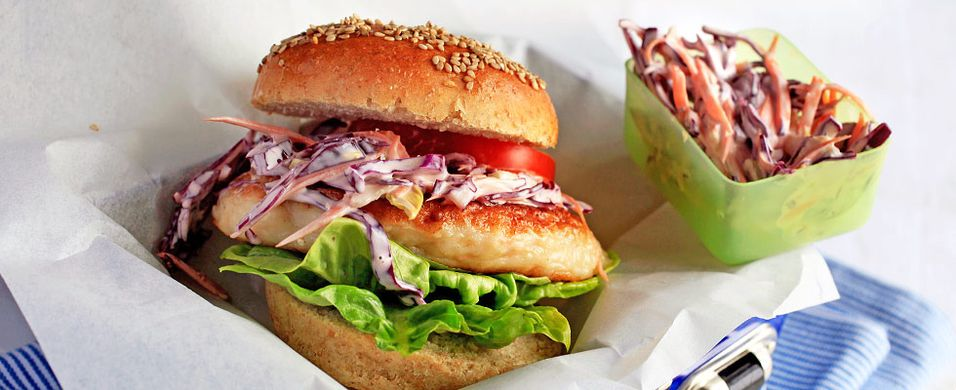 DAGENS RETT: Med denne burgeren til middag blir alle fornøyde