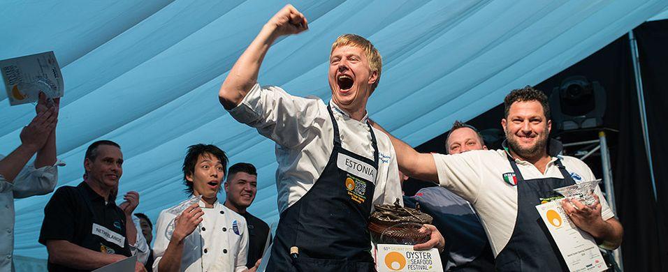 Anti Lepik fra Estland vant årets VM i østersåpning