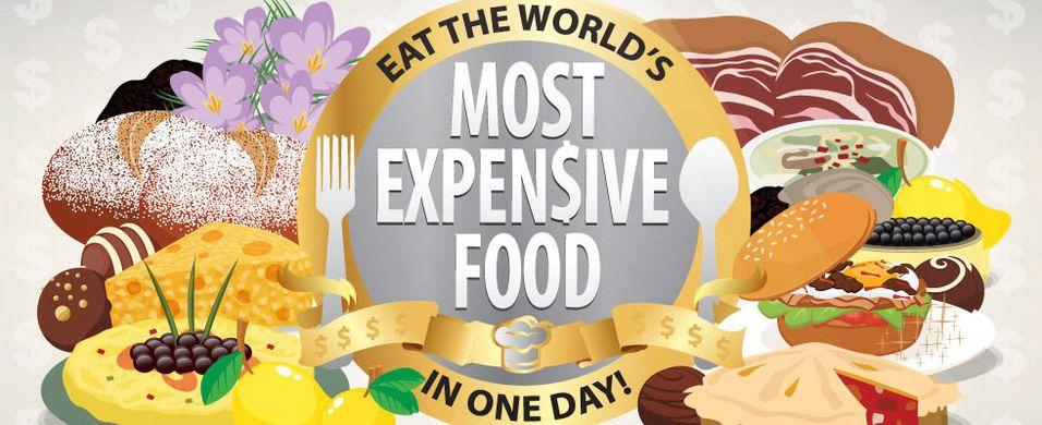 Dette er verdens dyreste mat