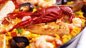 By på en ekte spansk paella