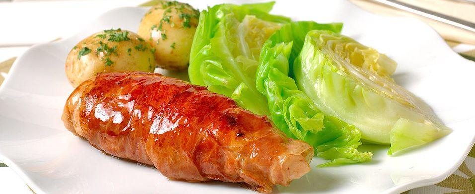 DAGENS RETT: Søndagsmiddagen er en sommerlig kyllingfilet