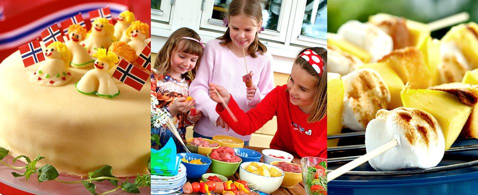 La barna få sin egen meny på 17. mai