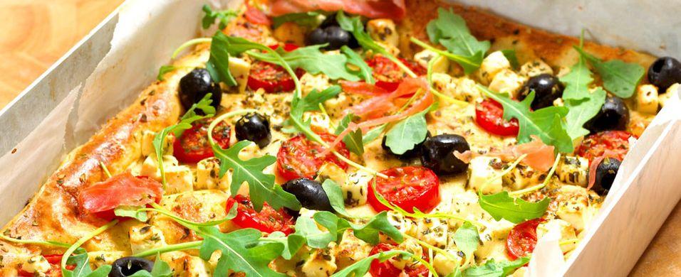 DAGENS RETT: I dag blir det pannekakepizza