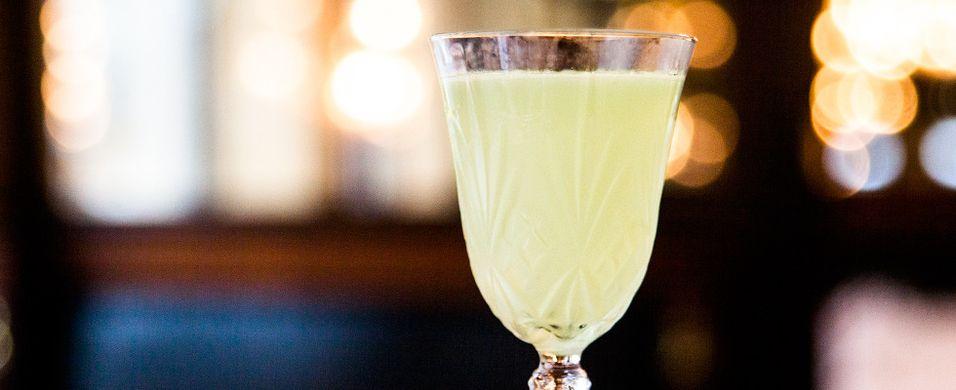 Start våren med en lysegrønn drink
