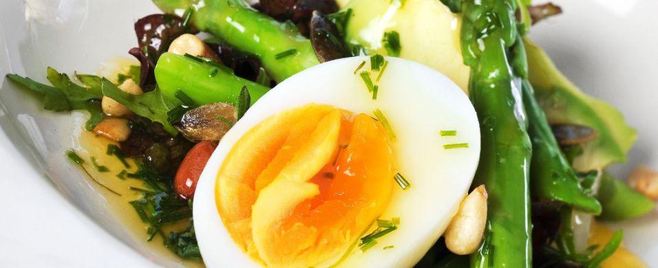 Prøv en ny oppskrift med asparges