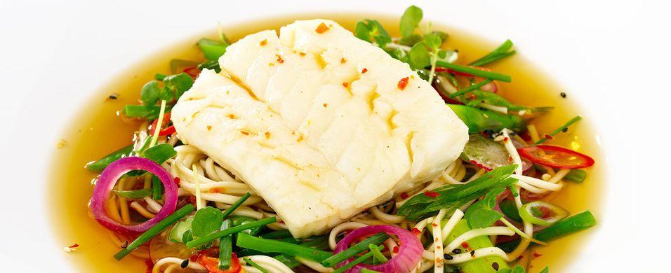 DAGENS RETT: Gjør torskemiddagen til en hot opplevelse
