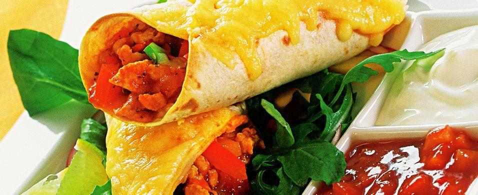 DAGENS RETT: Burritos gjør alle fornøyde