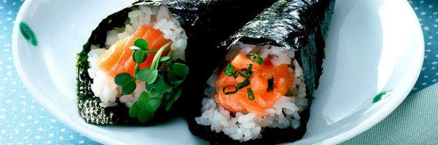 Bytt ut tacoen med hjemmelaget sushi