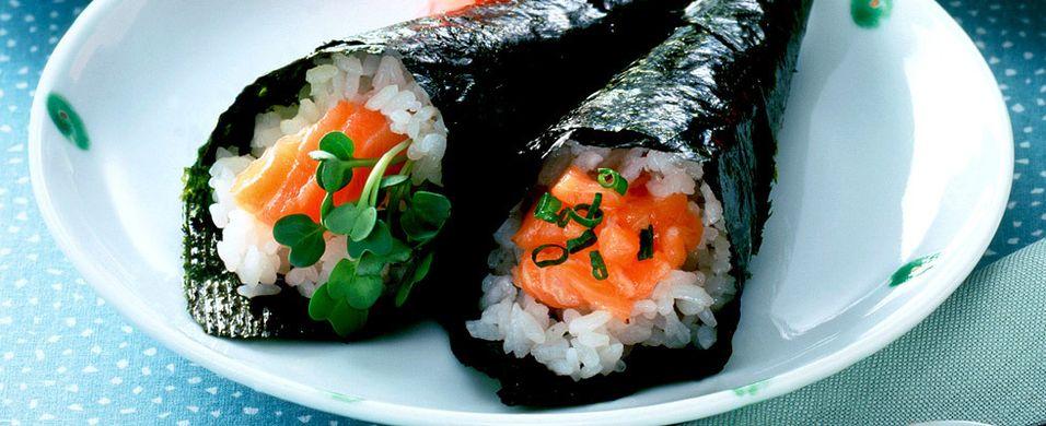 DAGENS RETT: Bytt ut tacoen med hjemmelaget sushi