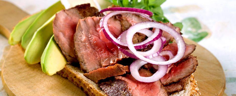DAGENS RETT: Slik blir et smørbrød til en fullverdig middag
