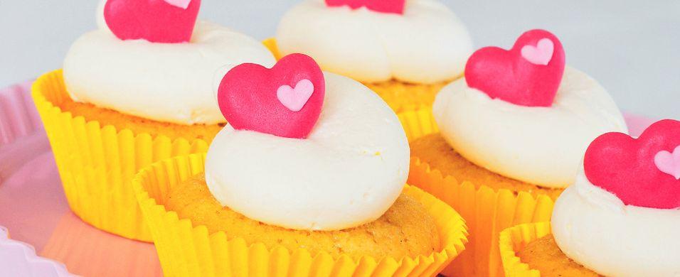 Forførende gode cupcakes