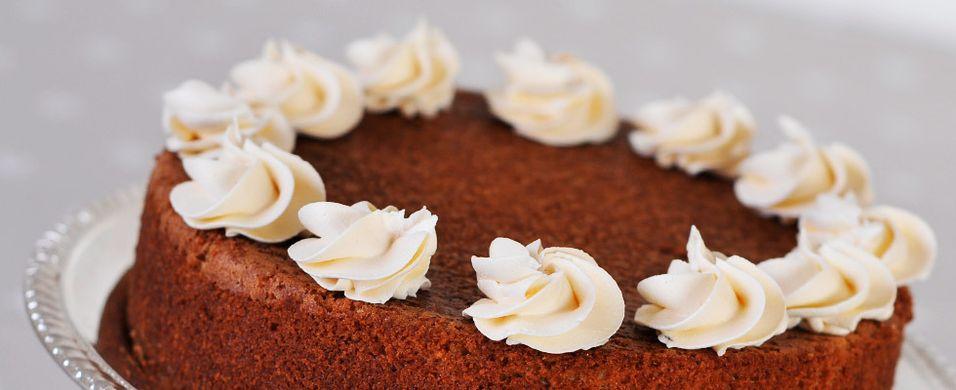 Saftig kake som dufter jul