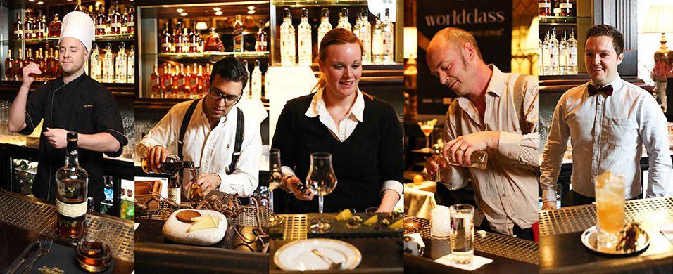 Fem bartendere videre i World Class