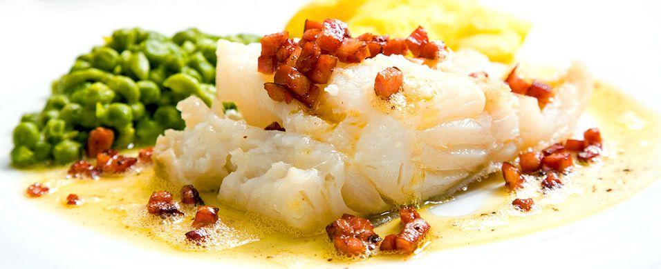 DAGENS RETT: Rester etter lutefiskmiddagen blir et nytt festmåltid