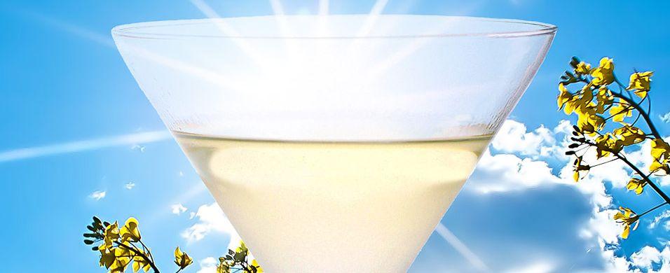 Dødsgod cocktail med gin
