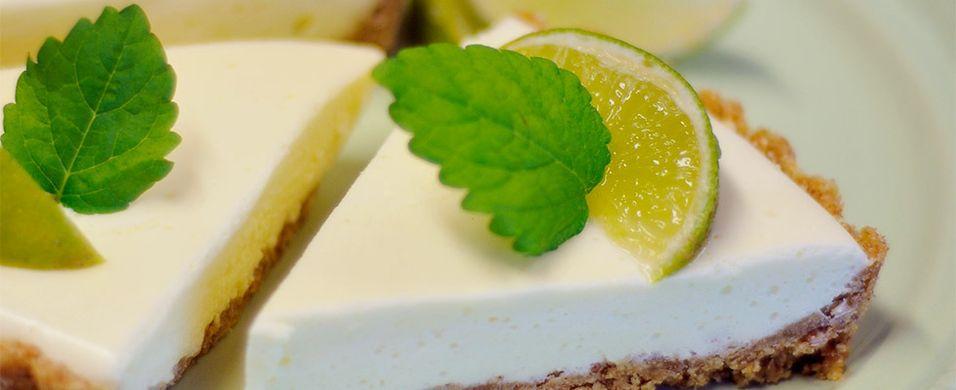 Lettvint ostekake med lime