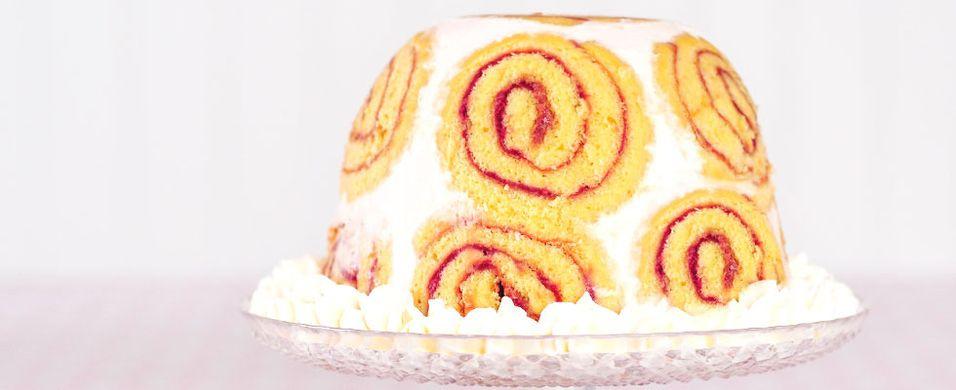 Prøv denne «kongelige» kaken