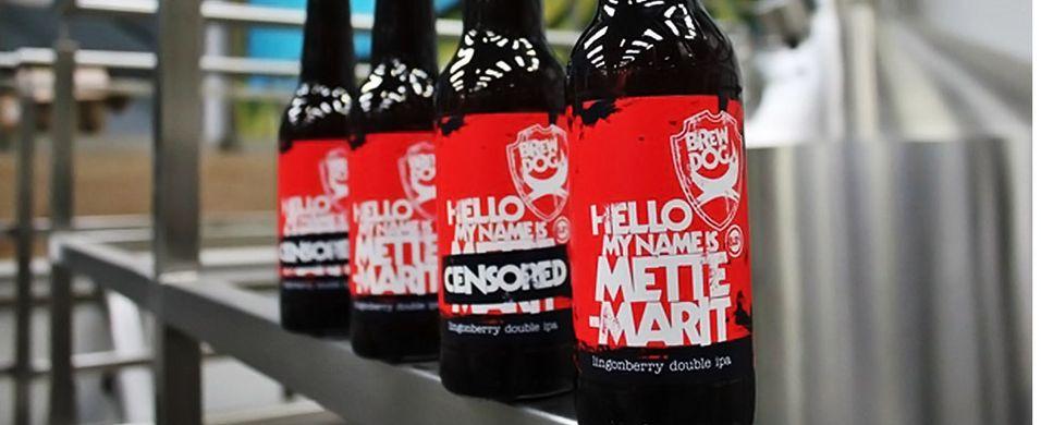 Sladdet «Mette-Marit» på plass