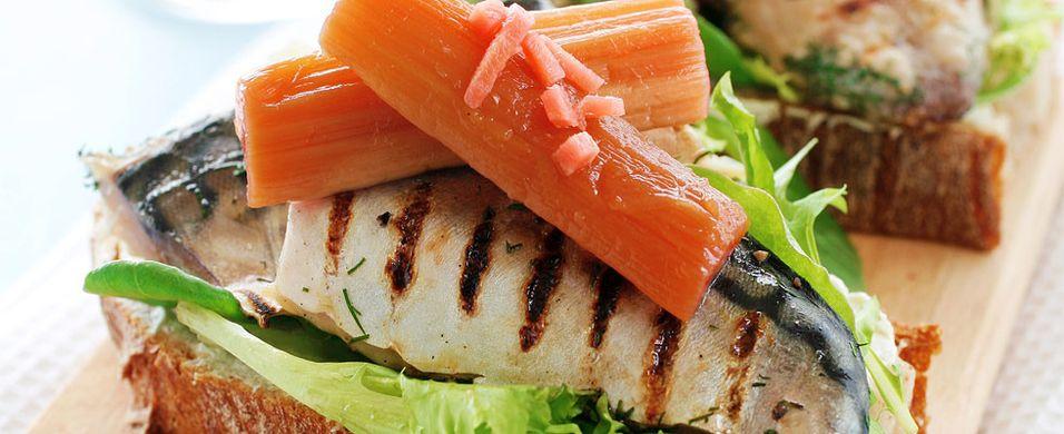 DAGENS RETT: I dag er det makrell som skal på grillen