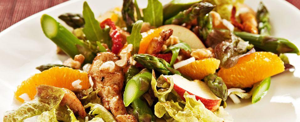 DAGENS RETT: Lag en ny vri på kyllingsalaten
