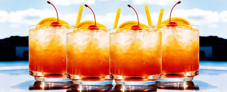 Vårlig drink med vodka