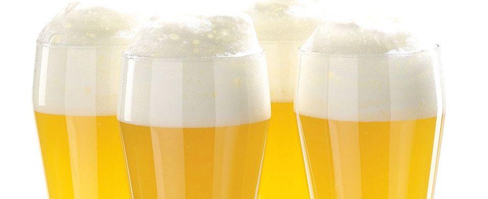 Forfriskende øl til blåskjellene